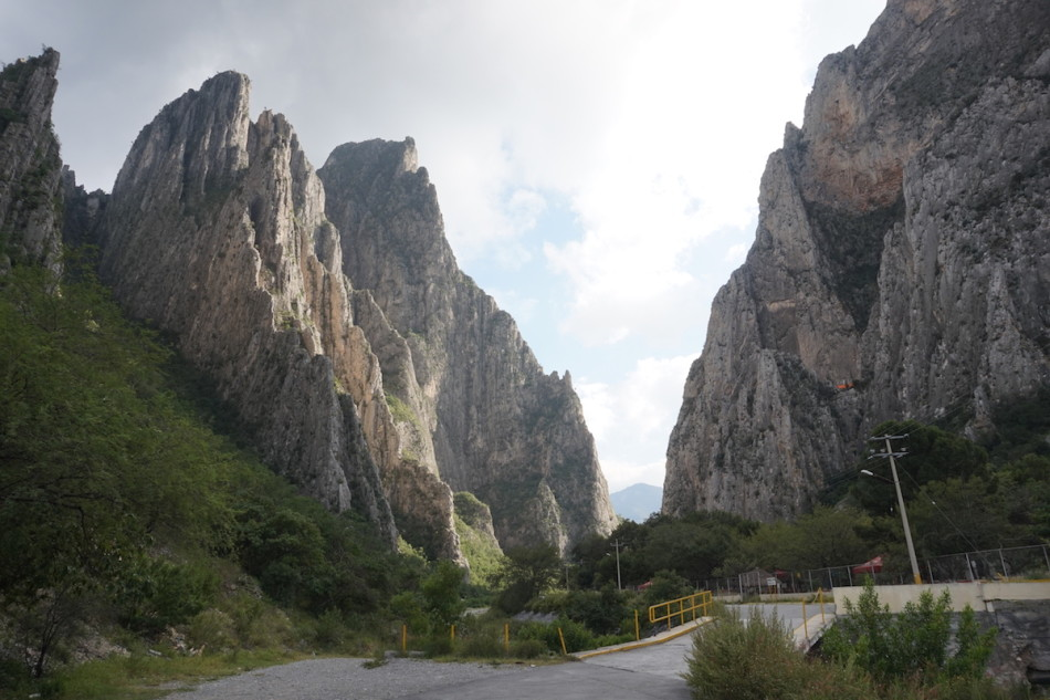 The grandiose towers as you enter the valley proper. Photo by Lida Frydrychova.