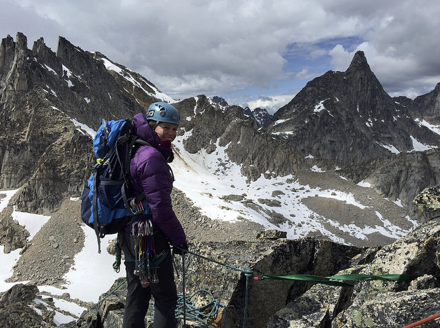 """""""I'd like to say thank you very much for choosing me to receive a Jim Colpitts scholarship this year! The Advanced Wilderness Medic certification is essential to my career and this money will pay for a large part of the course. The training will also make me a better volunteer trip leader and safer backcountry traveler.""""– Catrina Shellenberg"""