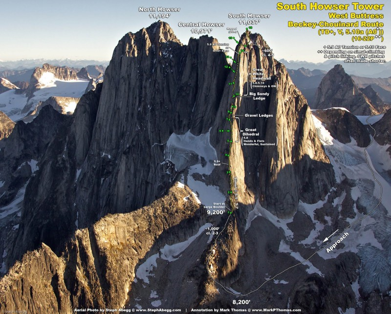 Amazing photo (and trip report) by Steph Abegg.  http://www.stephabegg.com/home/tripreports/britishcolumbia/bugaboos2007
