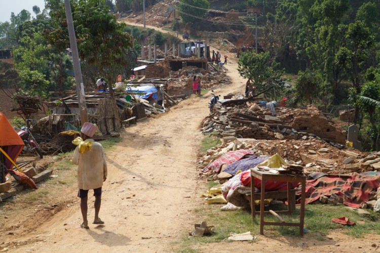 The village of Thulosirubari.