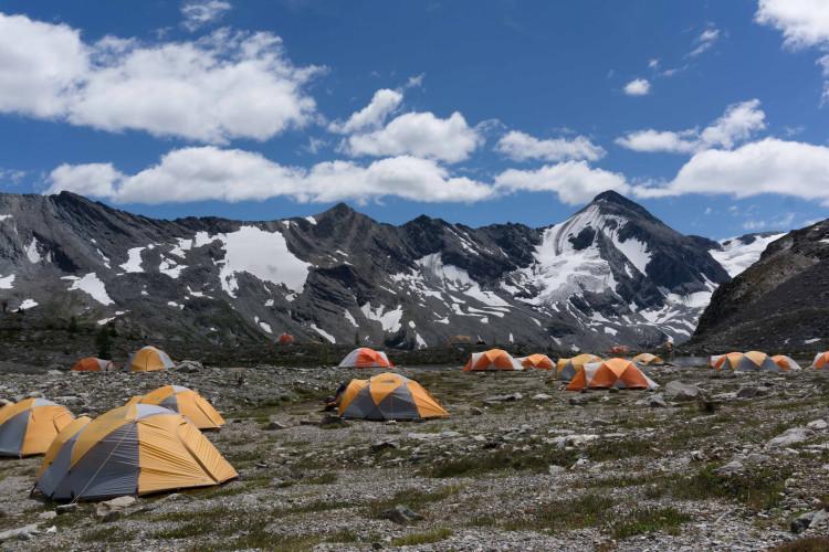 2015 Stockdale GMC campsite. Photo by Dan Hellum.