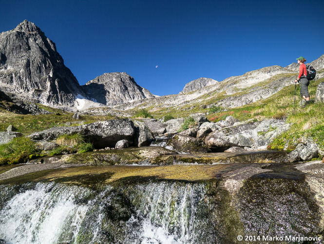 Exploring the beautiful alpine in a place only a handful of people have ever visited.