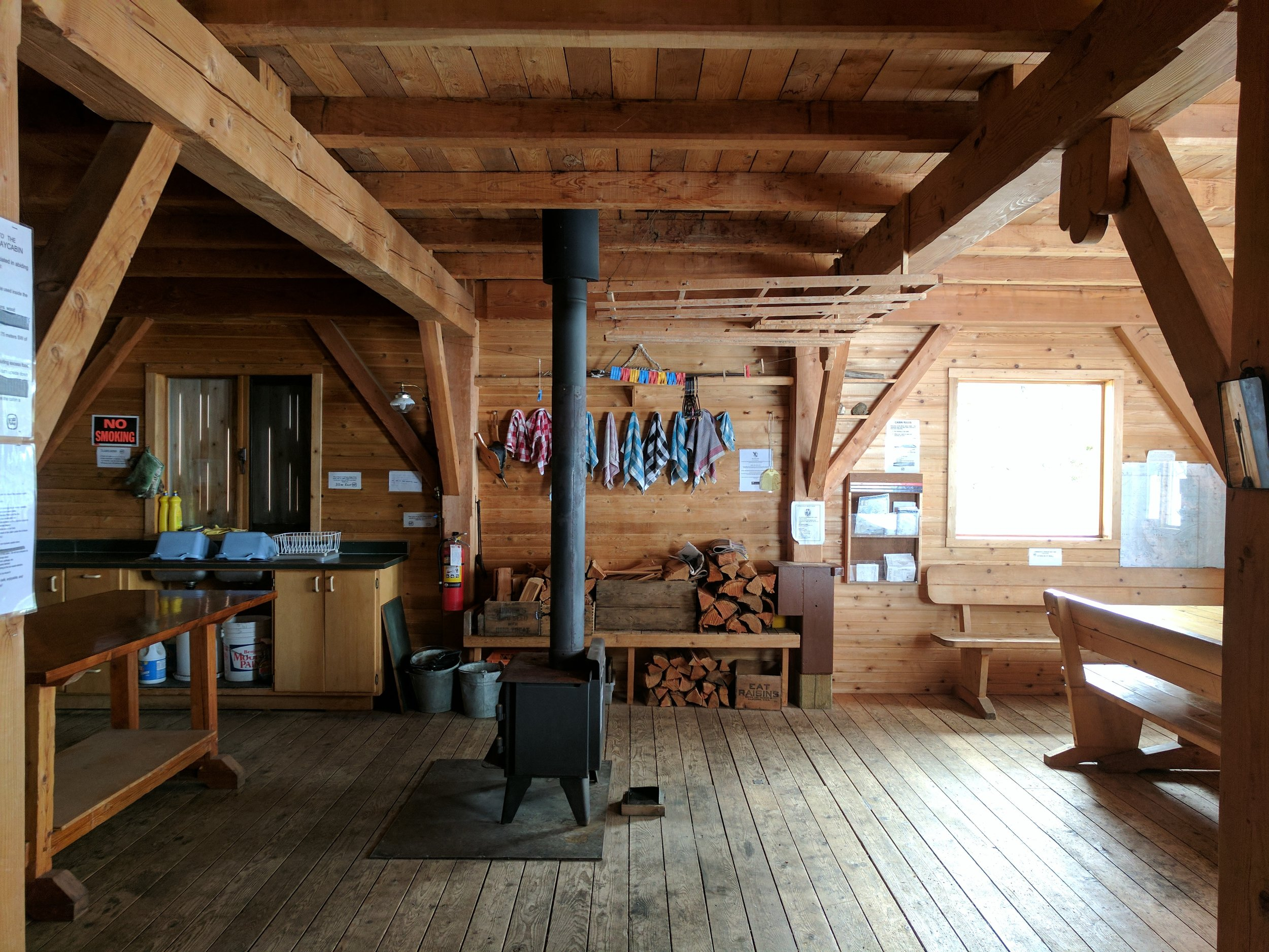 Silver Spray Cabin. Photo by Nicole Larson.