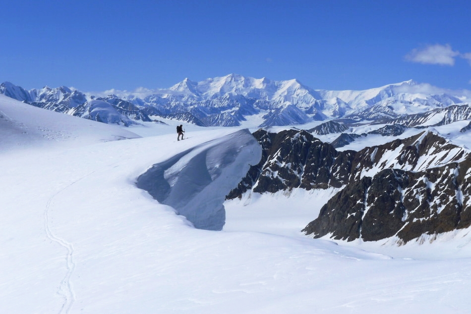 Big cornice with an awesome backdrop view. Photo by Christian Pedersen.