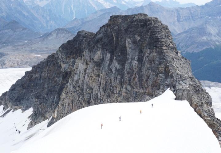 Glaciers and rocks. GMC 2015. Photo by Elizabeth Eckhardt.