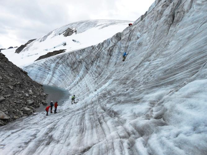 Ice school. Photo by Bill Derby.