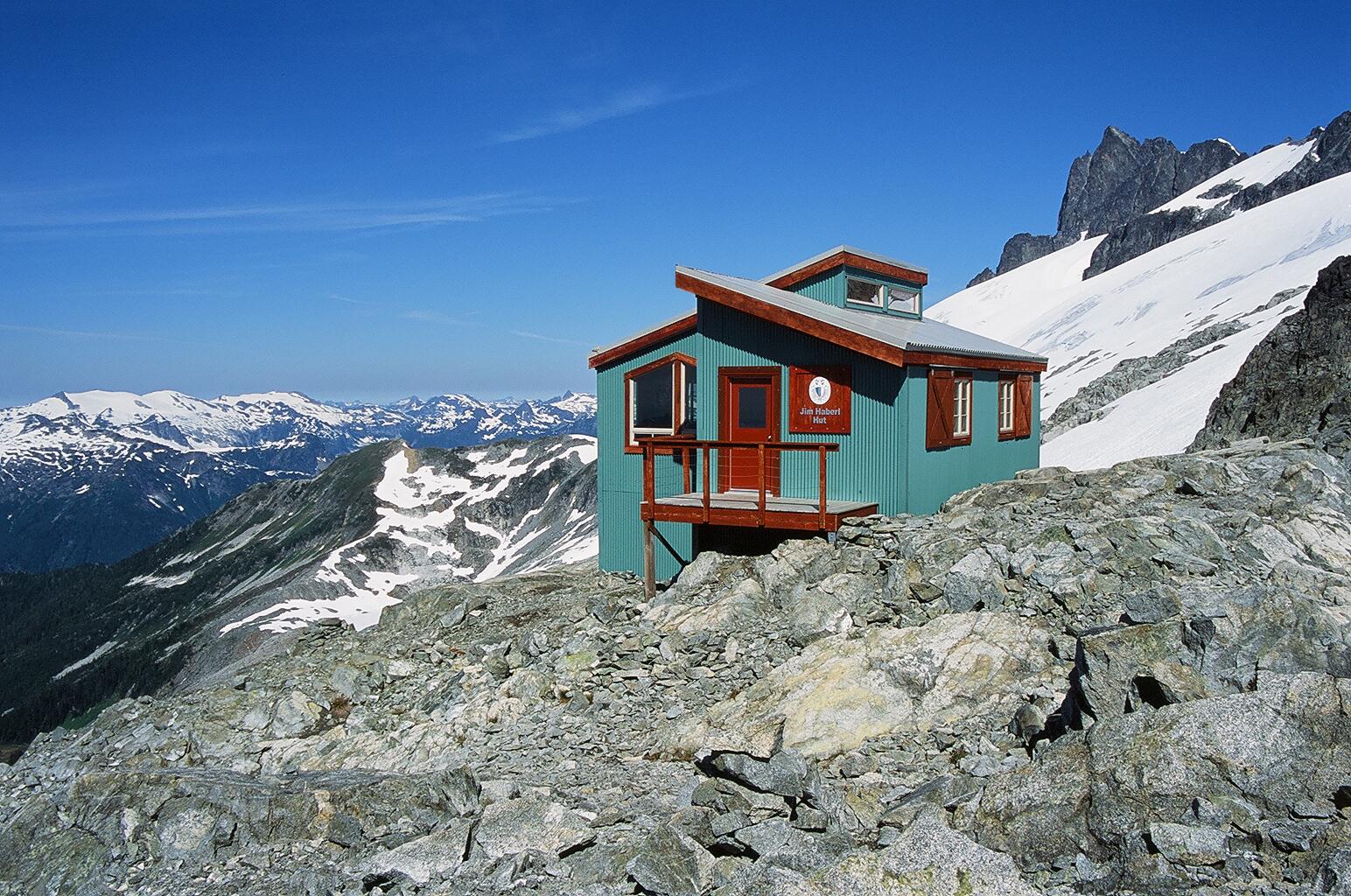 jim Haberl Hut.