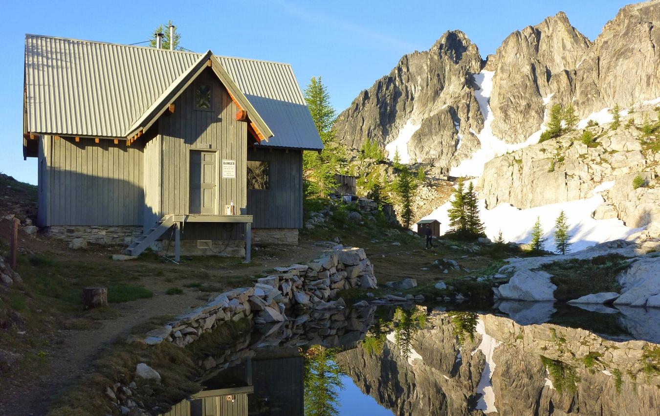 Silver Spray Cabin, Kokanee Glacier Provincial Park. Photo: Shaun King
