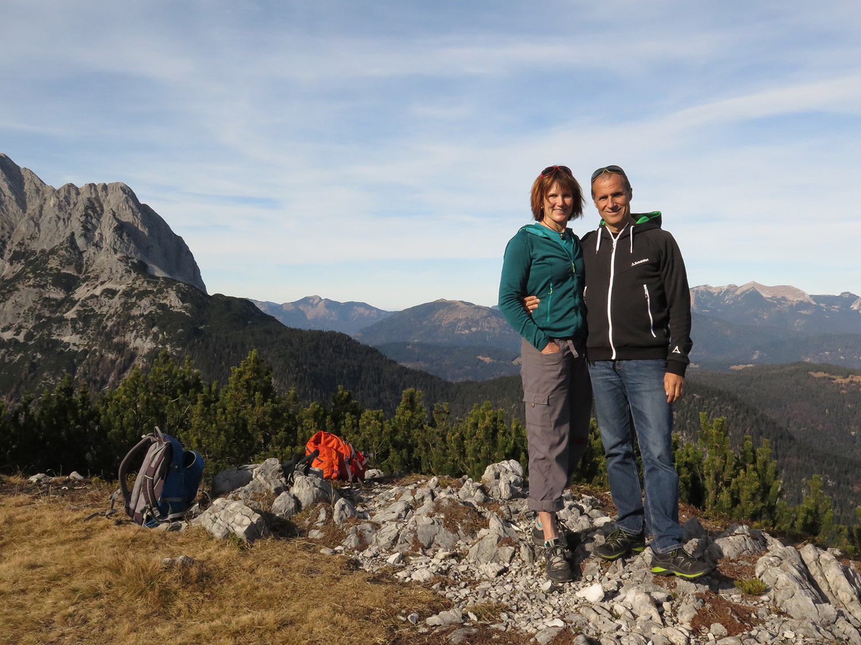 Hiking in the German Alps. Photo by Alina Erdkönig.
