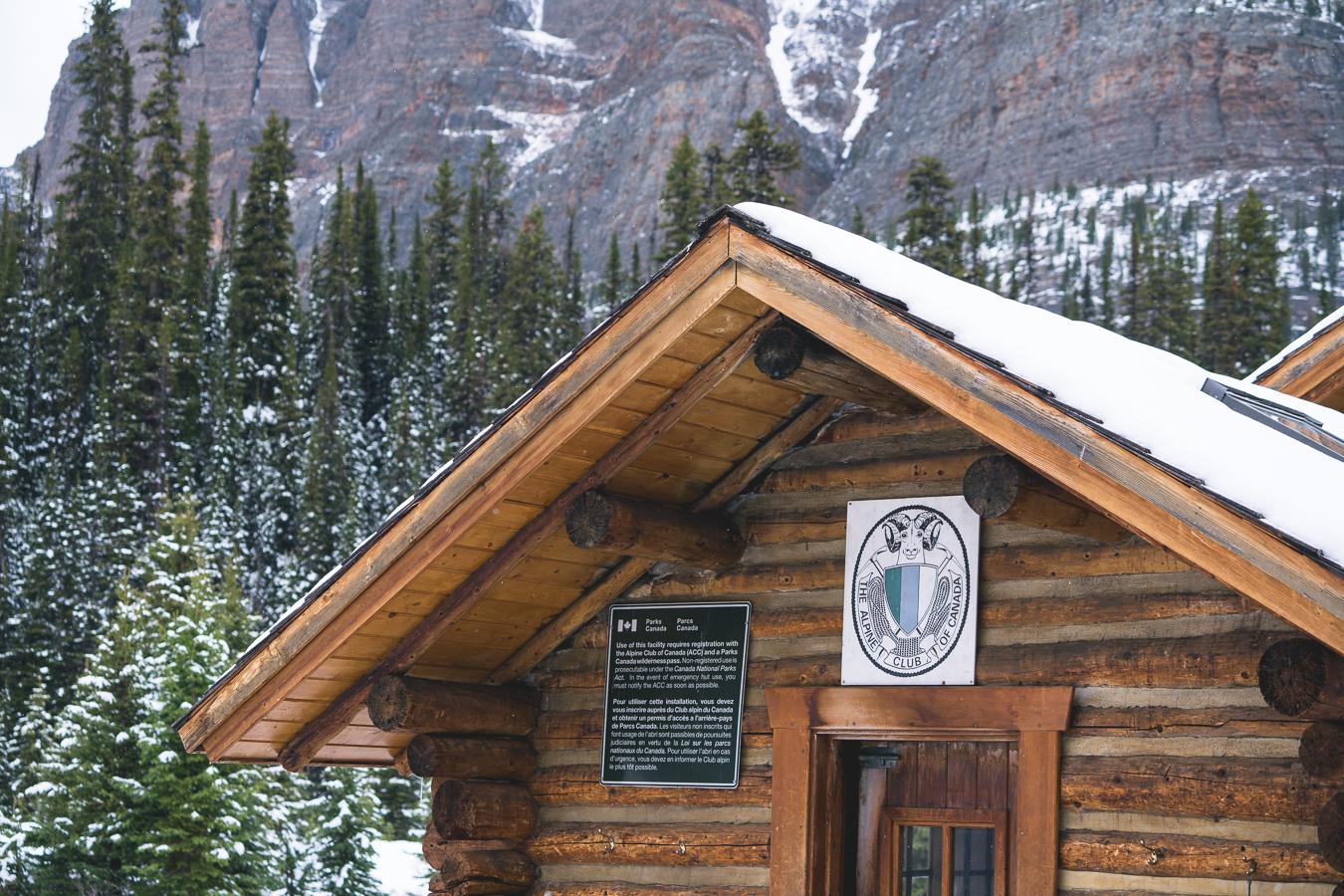 Servicing the Elizabeth Park Hut, a coveted hut for ski touring!