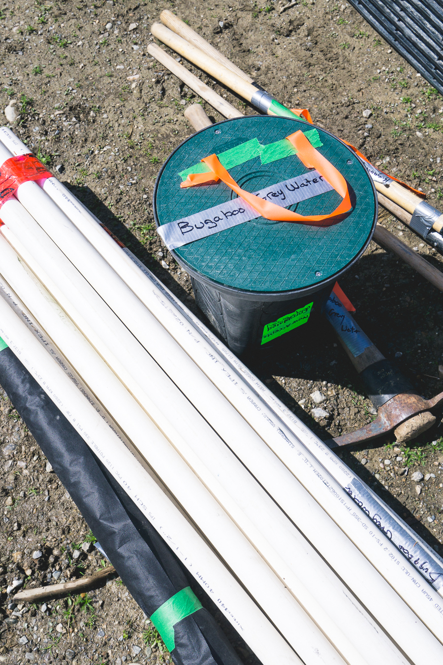 Careful planning beforehand ensures all materials and tools are prepped and ready when hut service days arrive.