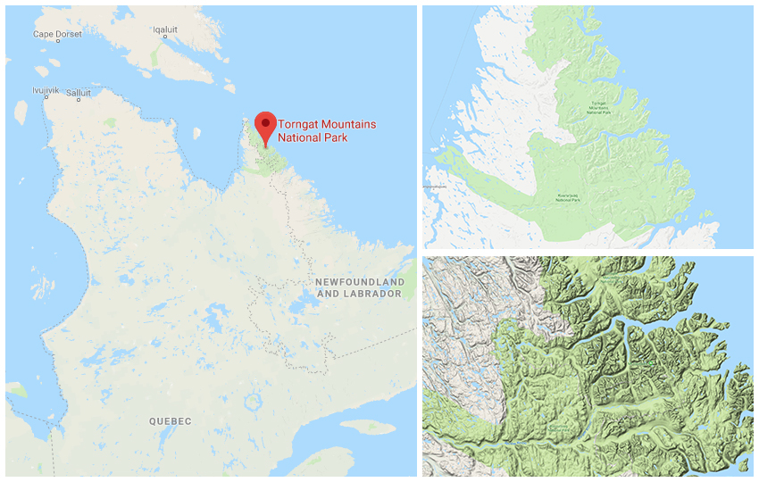 Torngat Mountains National Park - way out there!