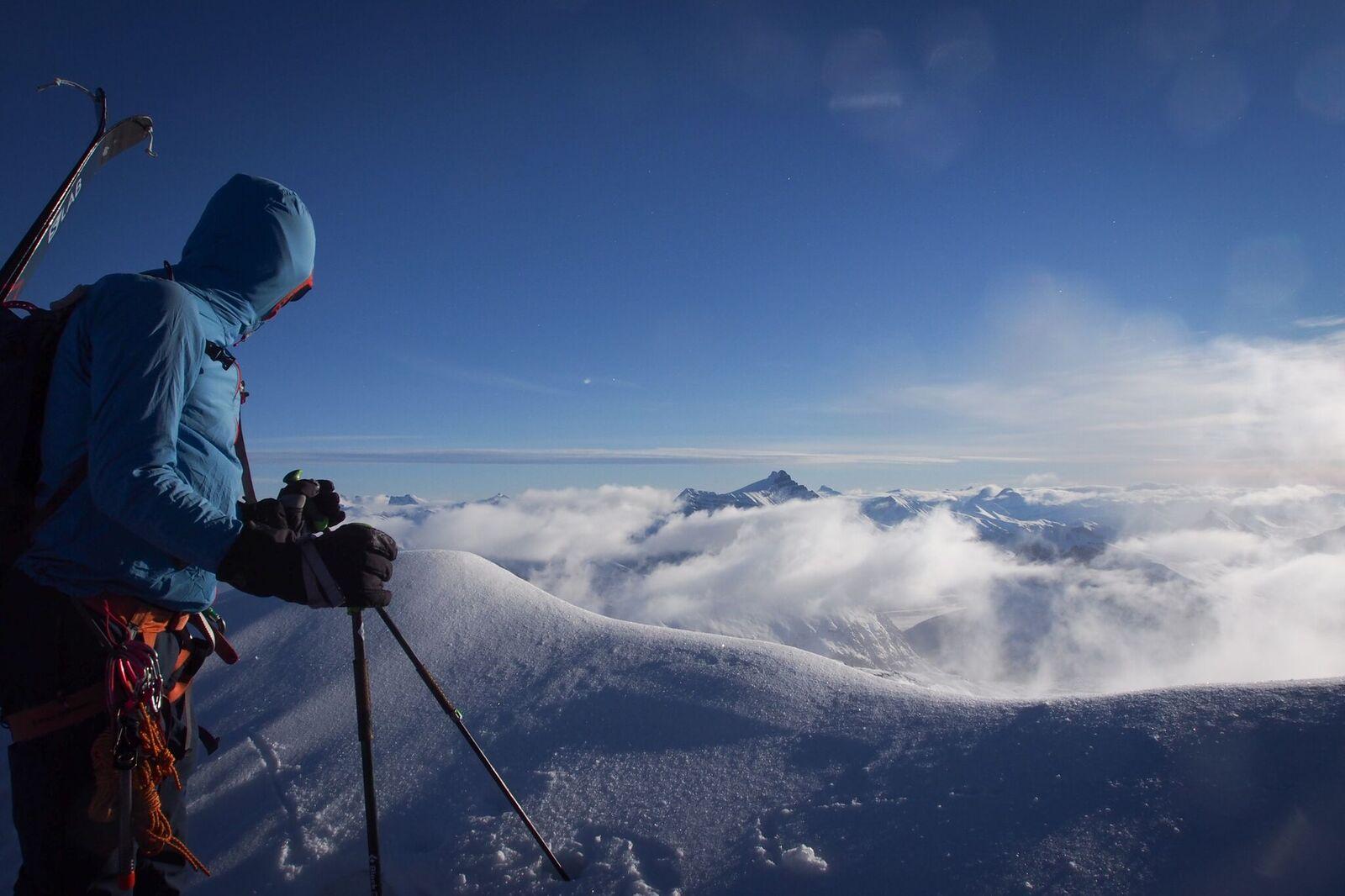View across the icefield Photo: Matt Reid