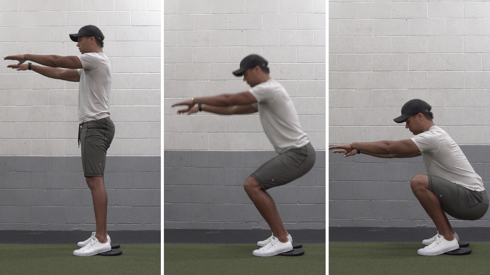 how to squat for beginners body weight