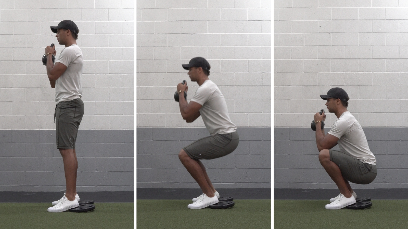 how to squat for beginners goblet squat