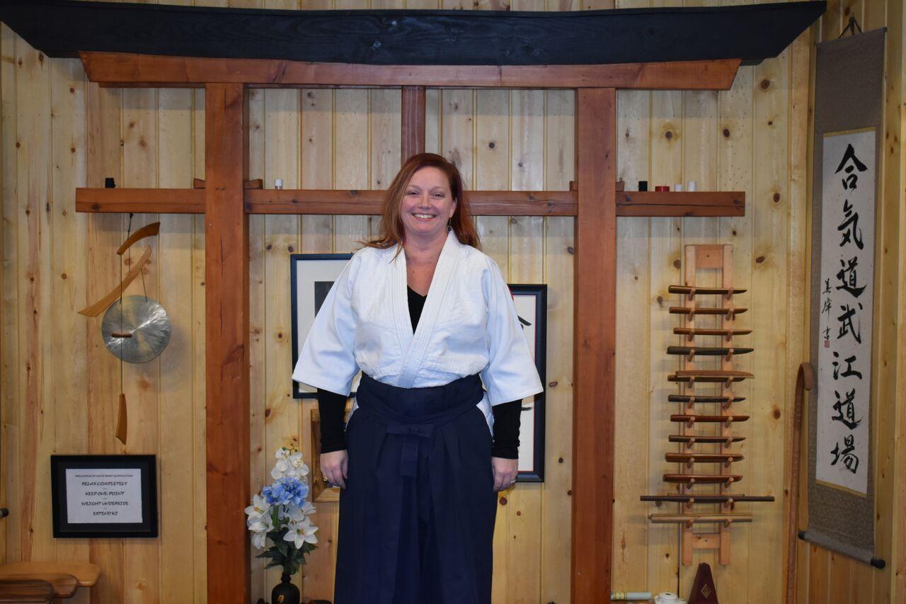Corrie Ellefson  2nd Degree Black Belt- Aikido