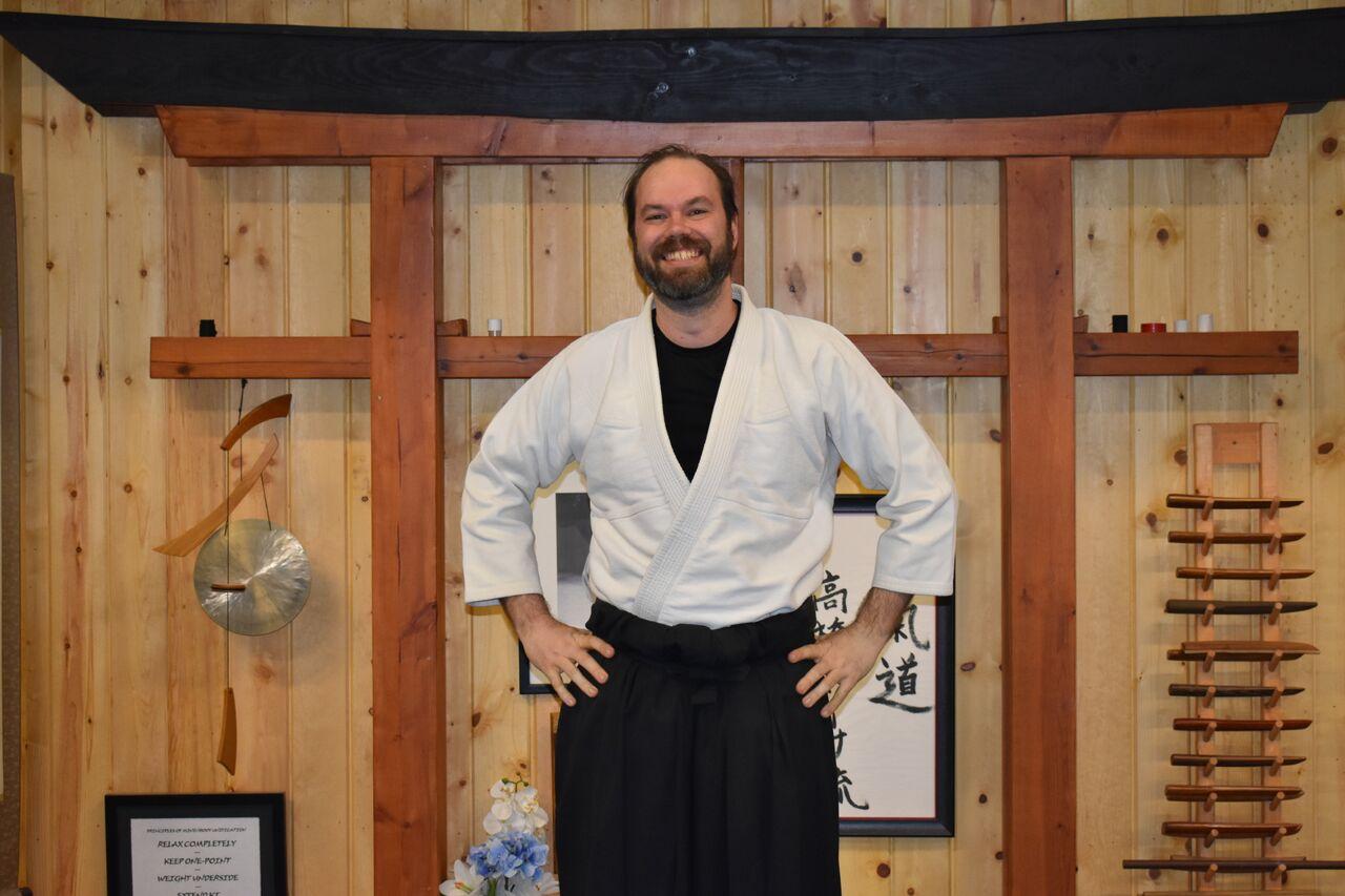 Seth Chapin  2nd Degree Black Belt- Aikido