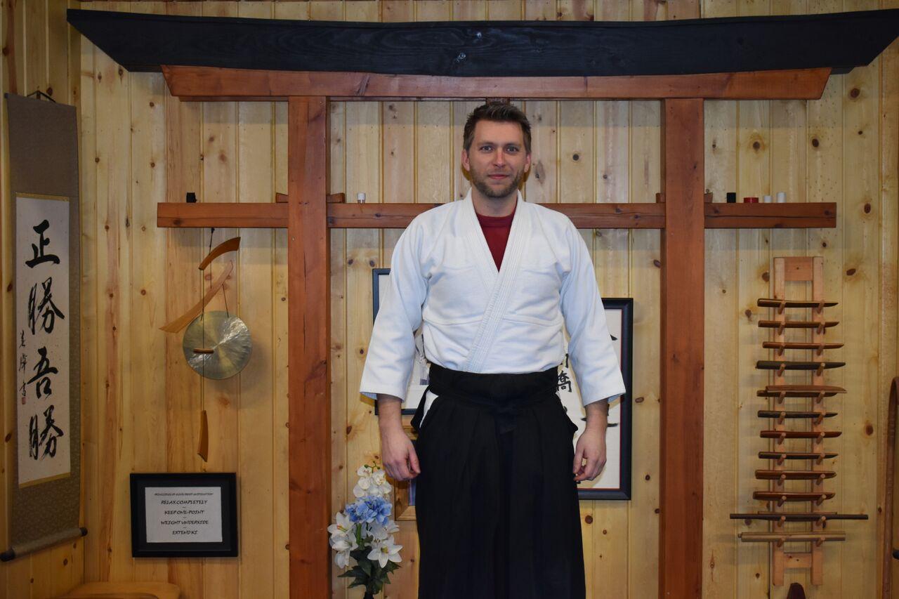 Noah Lynn  1st Degree Black Belt- Aikido