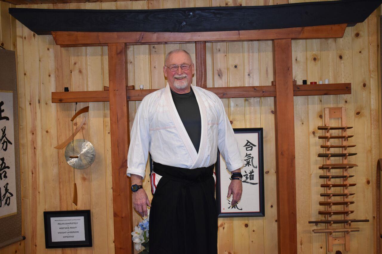 Leo Lalley  1st Degree Black Belt- Aikido