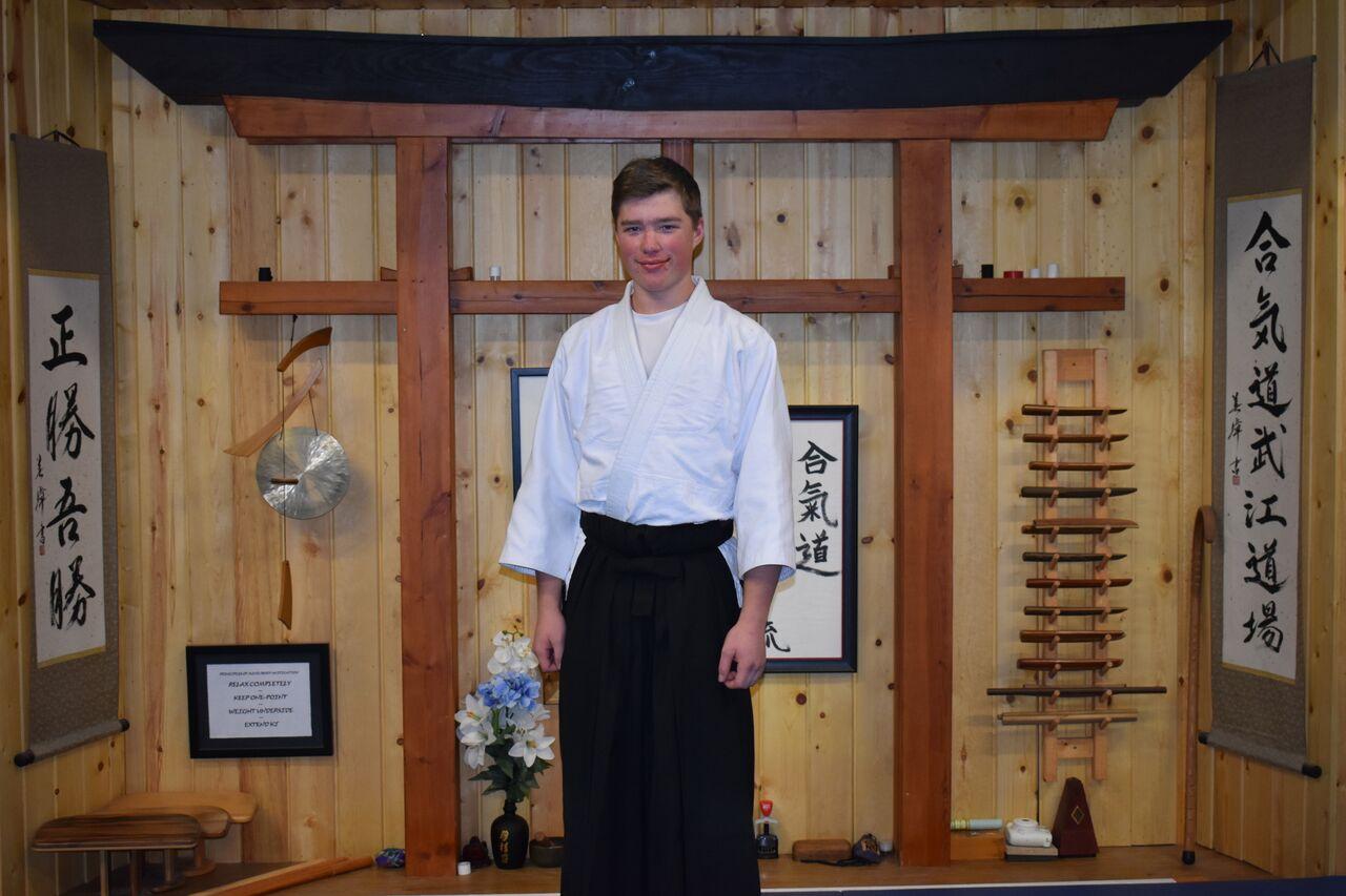 Nicholas Krampert  1st Degree Black Belt- Aikido