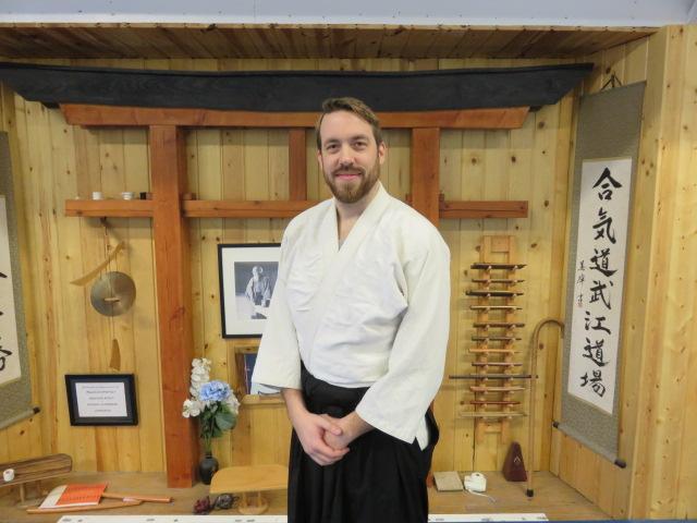 Zach Symes  Brown Belt- Aikido