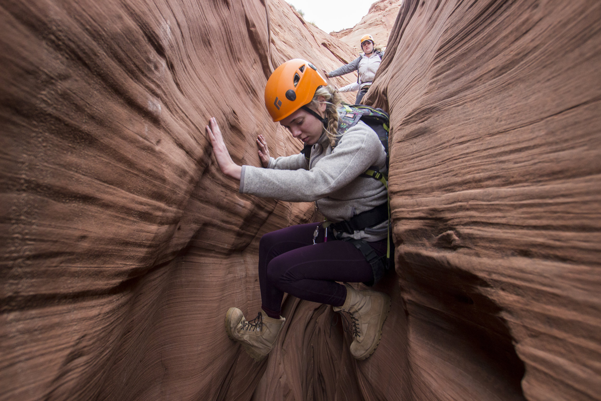 Canyoneering North Wash ISOLS 2018