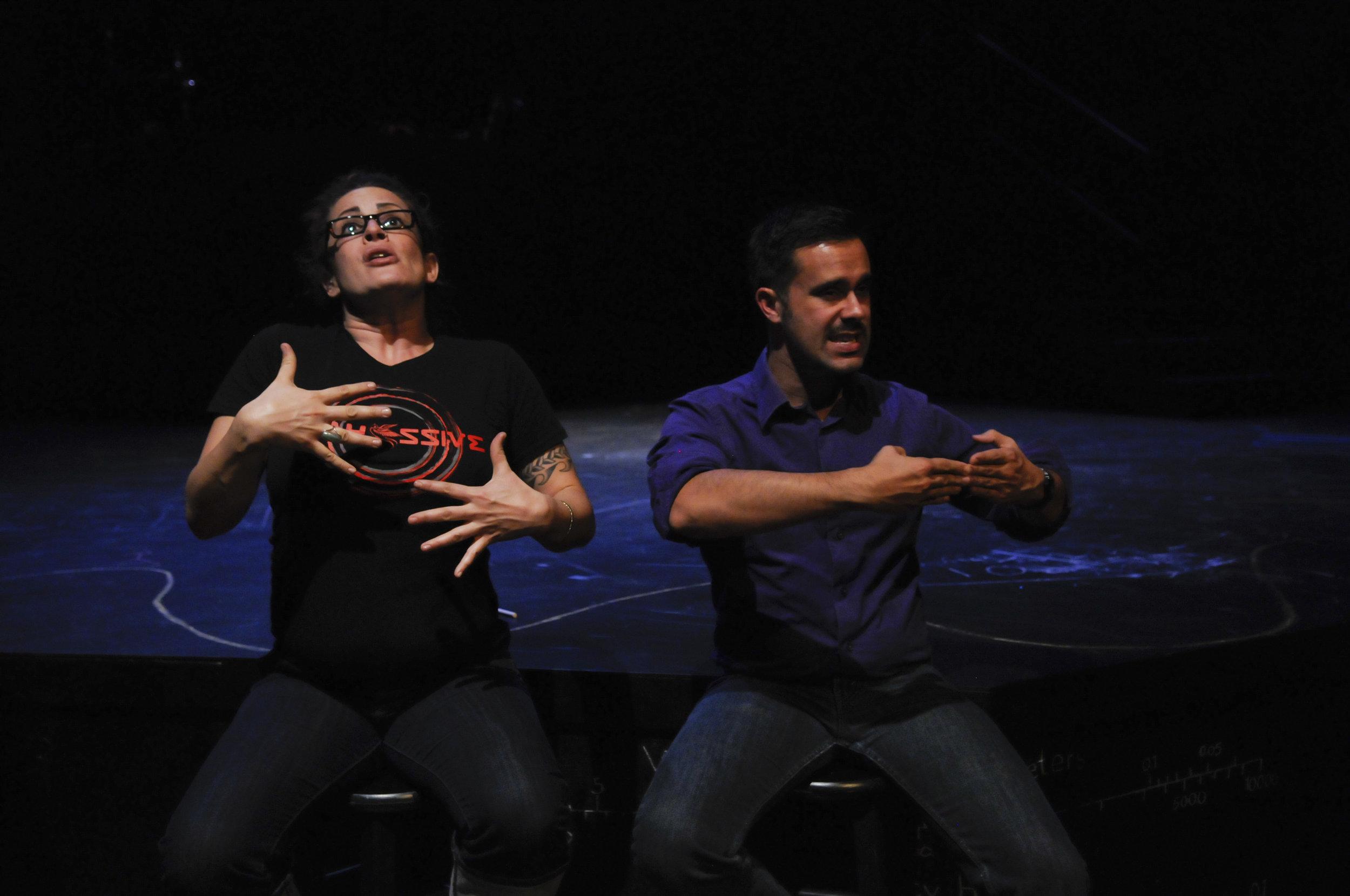 ASL interpreters rehearse.jpg