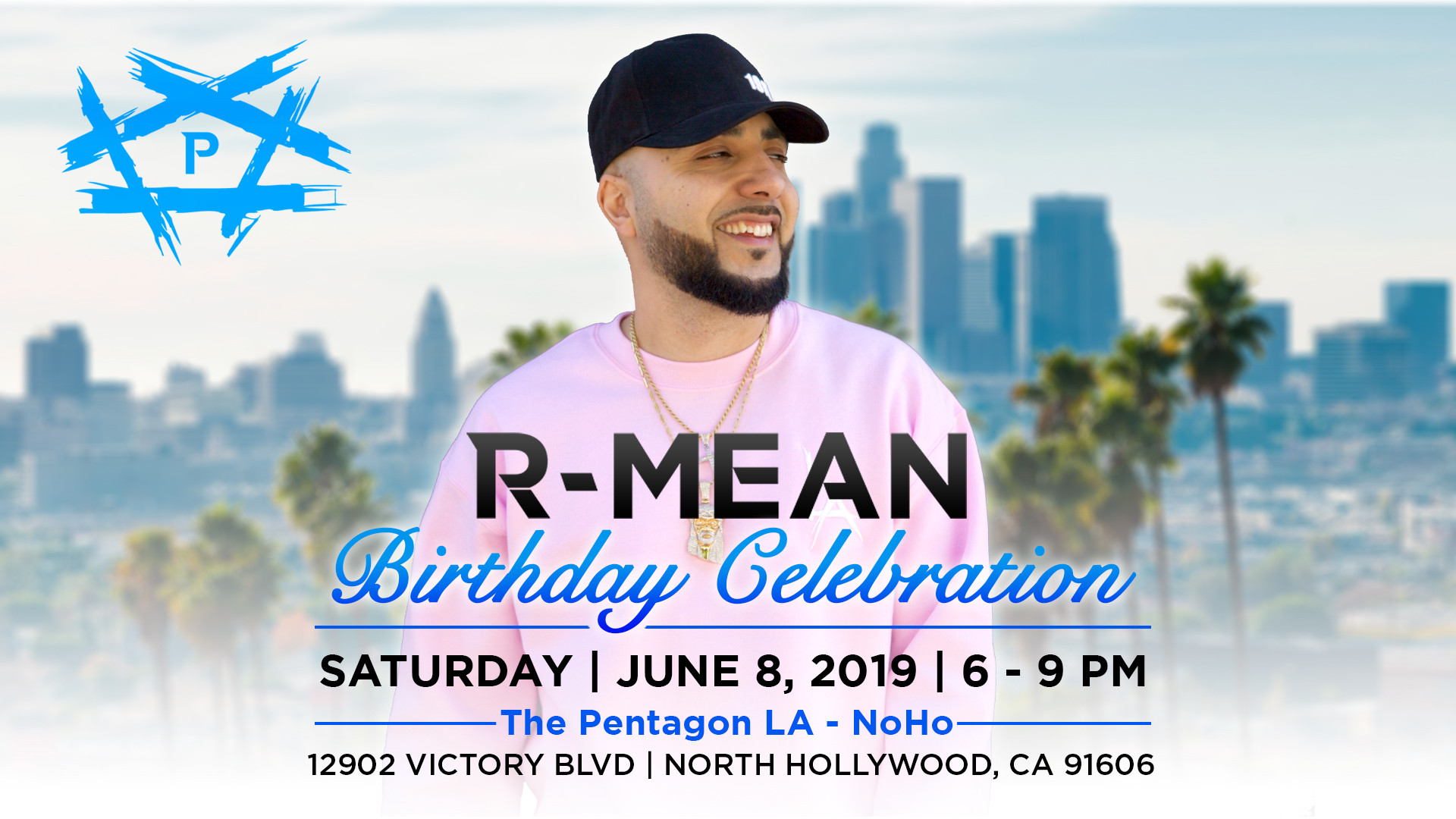 The Pentagon LA R-Mean Birthday Celebration