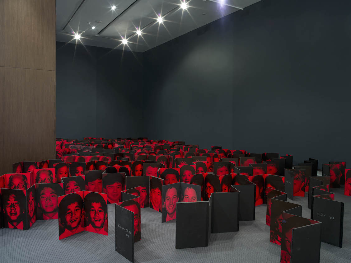 THE DARK OF ABSOLUTE FREEDOM  2014 - 2015 Installation Image Photography by Carl Warner, Courtesy of UQ Art Museum