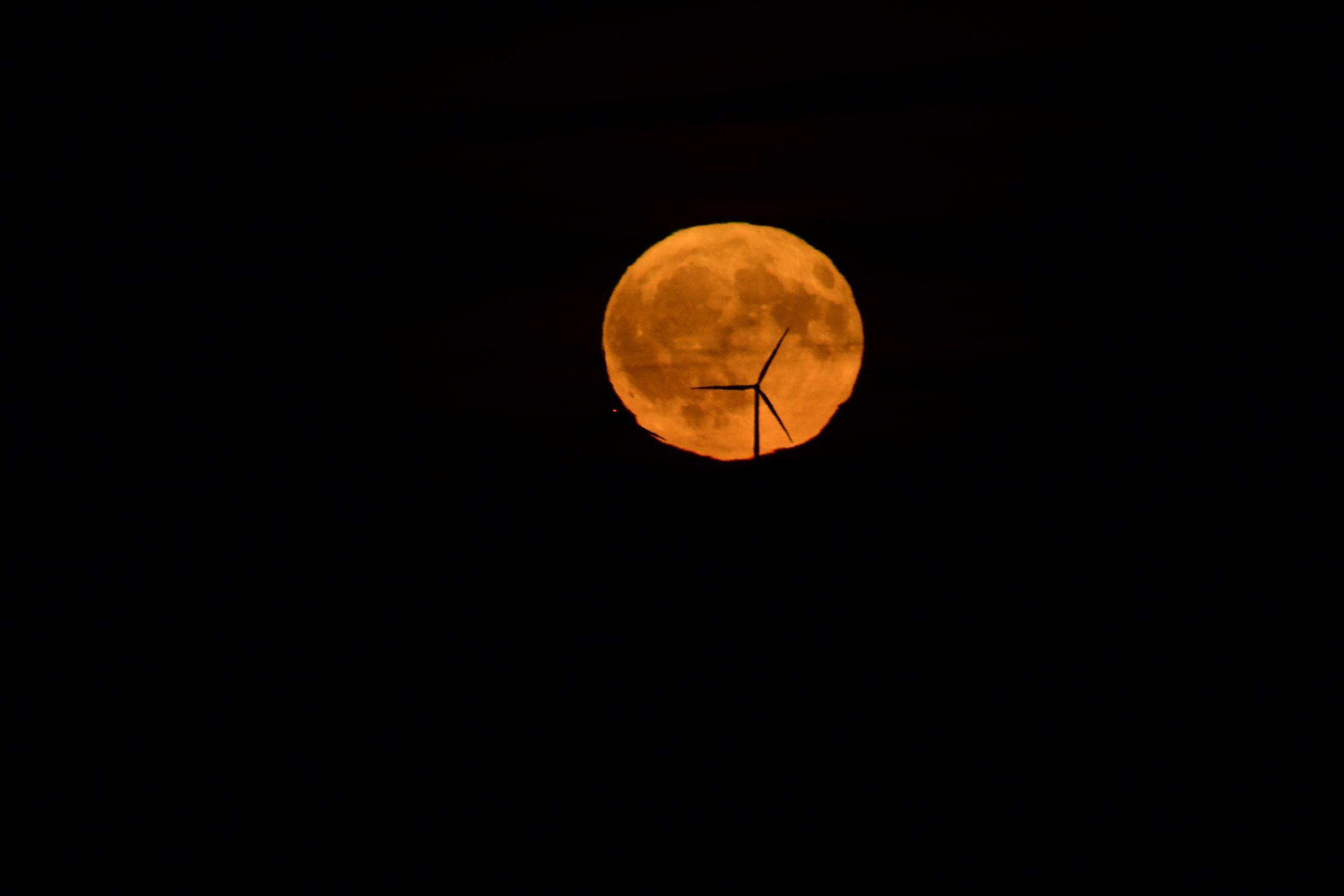Wind Turbines at Moonrise_1