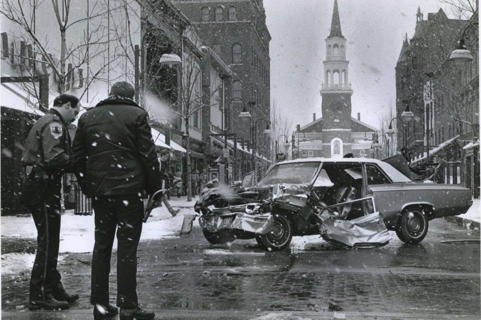 Church Street Car Crash