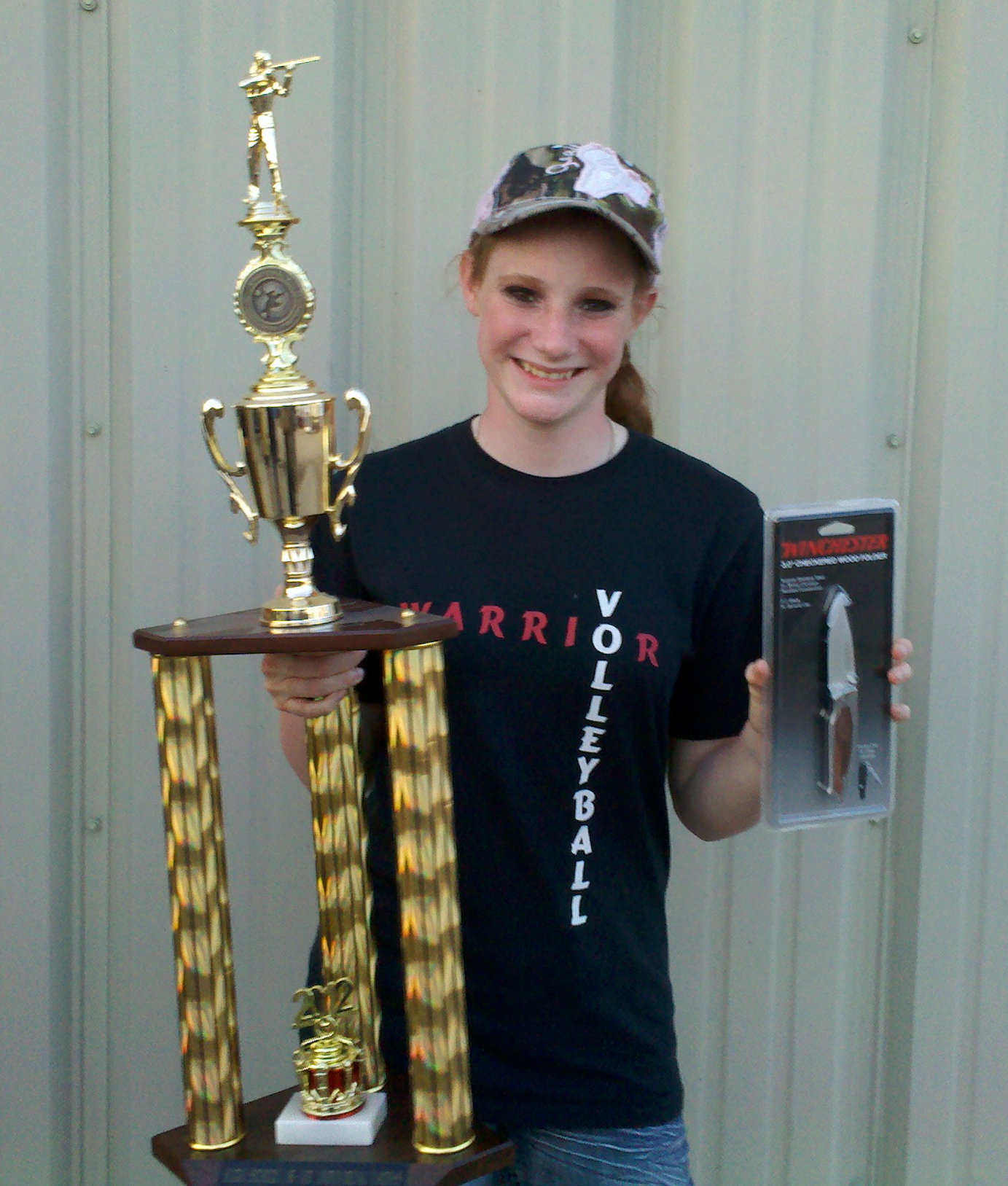 2012 Cornhusker State Youth Championship High School Female Champion - Racheal Houk !!!