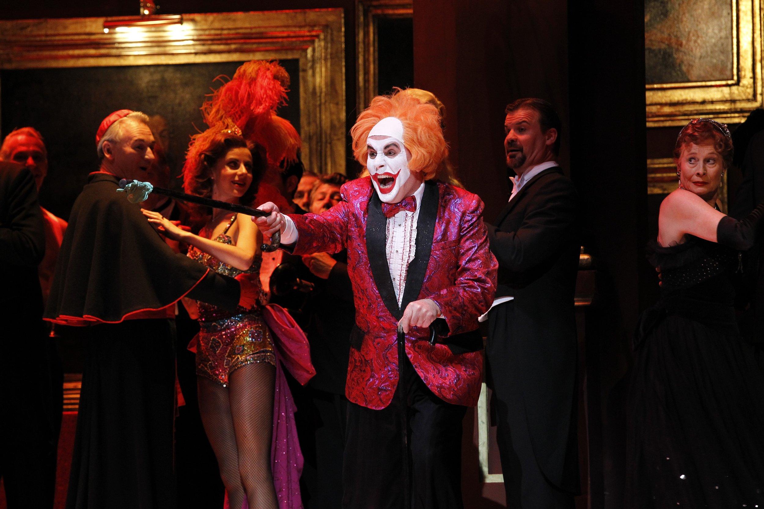 Rigoletto. Image courtesy Opera Australia. Credit Jeff Busby