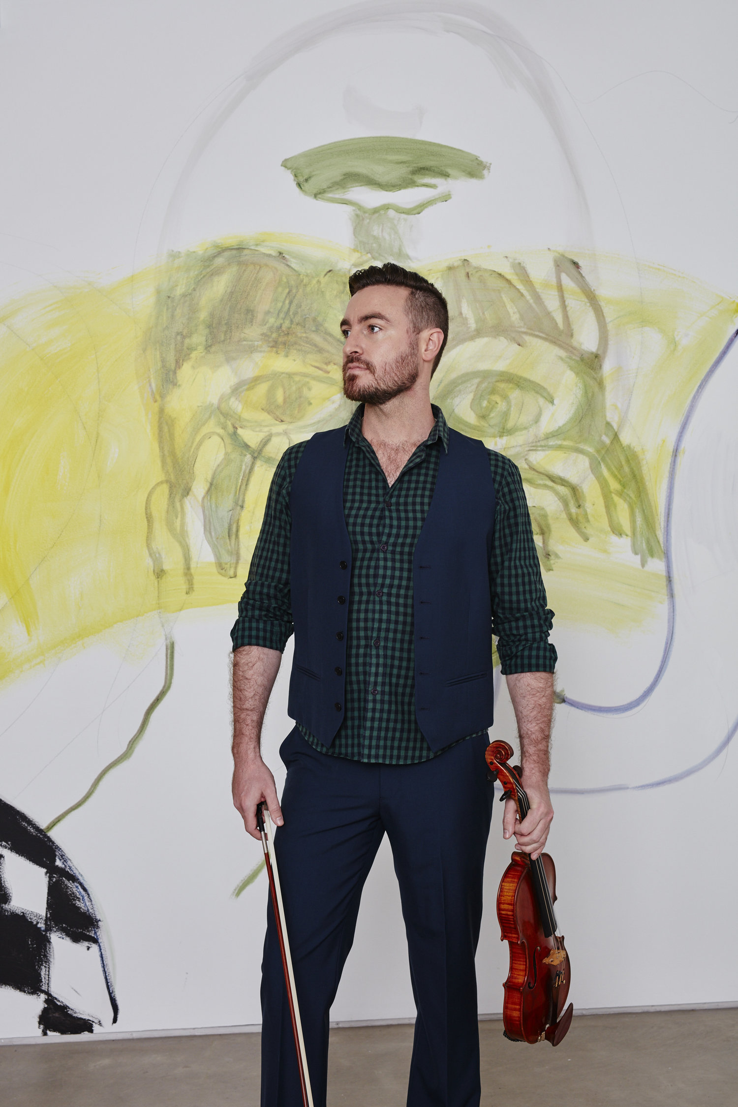Violinist Dan Russell launches the Phoenix Collective