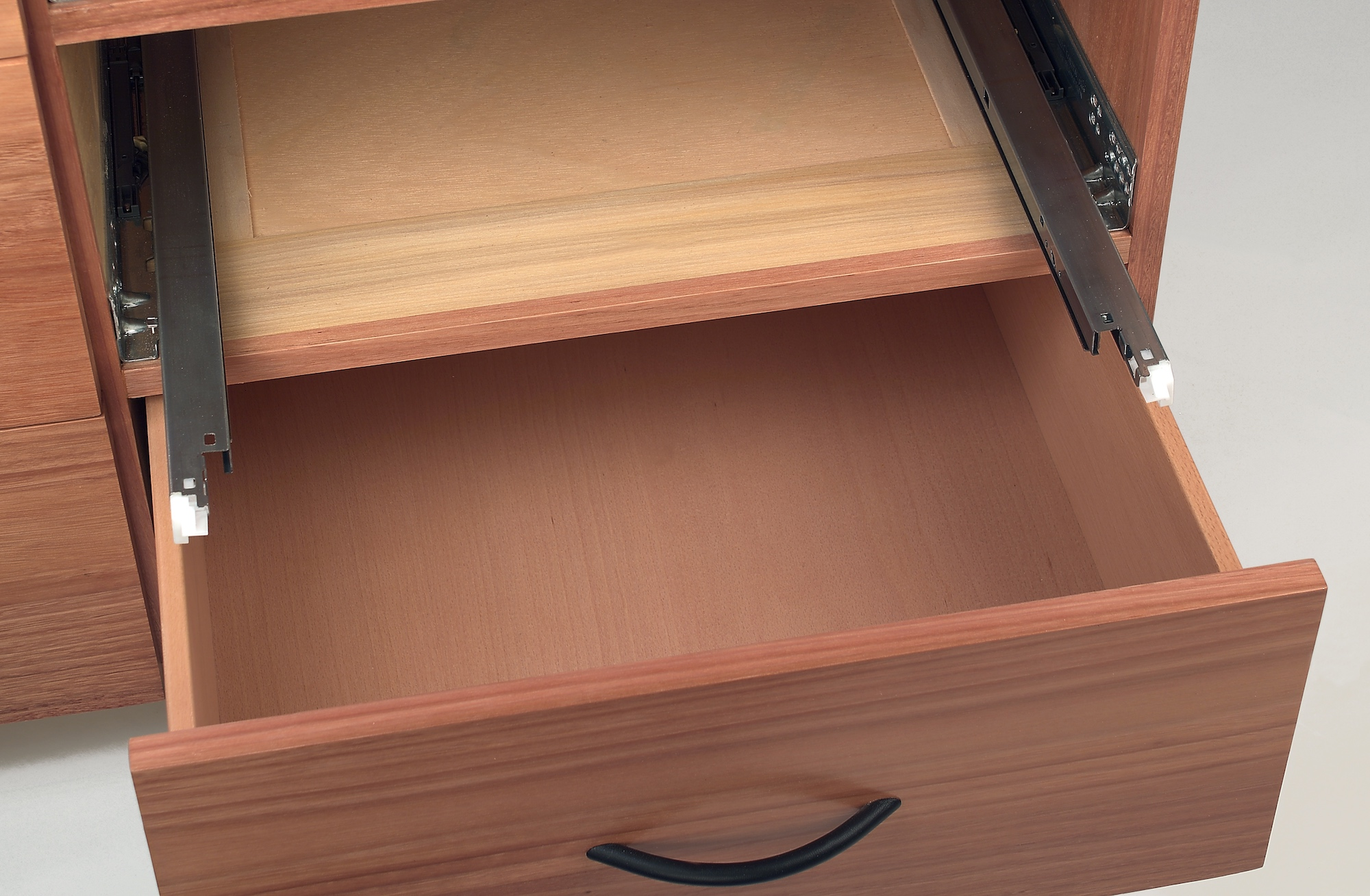 Drawer Unit with Frame and Panel and Soft Close Slides.