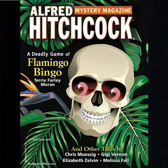 "My story ""Photo Finished"" is in the May/ June issue of the Alfred Hitchcock Mystery Magazine, and it's out today! Snag a copy at Barnes and Noble or from the magazine's website. (DM me if you need a link.) @alfredhitchcockmm #alfredhitchcockmysterymagazine"