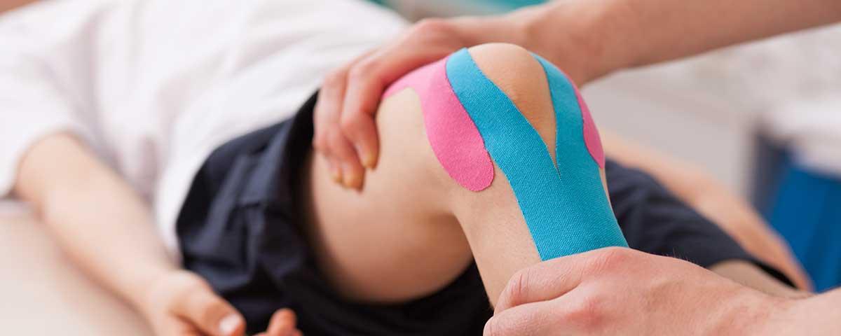 sports medicine kinesiology tape knee
