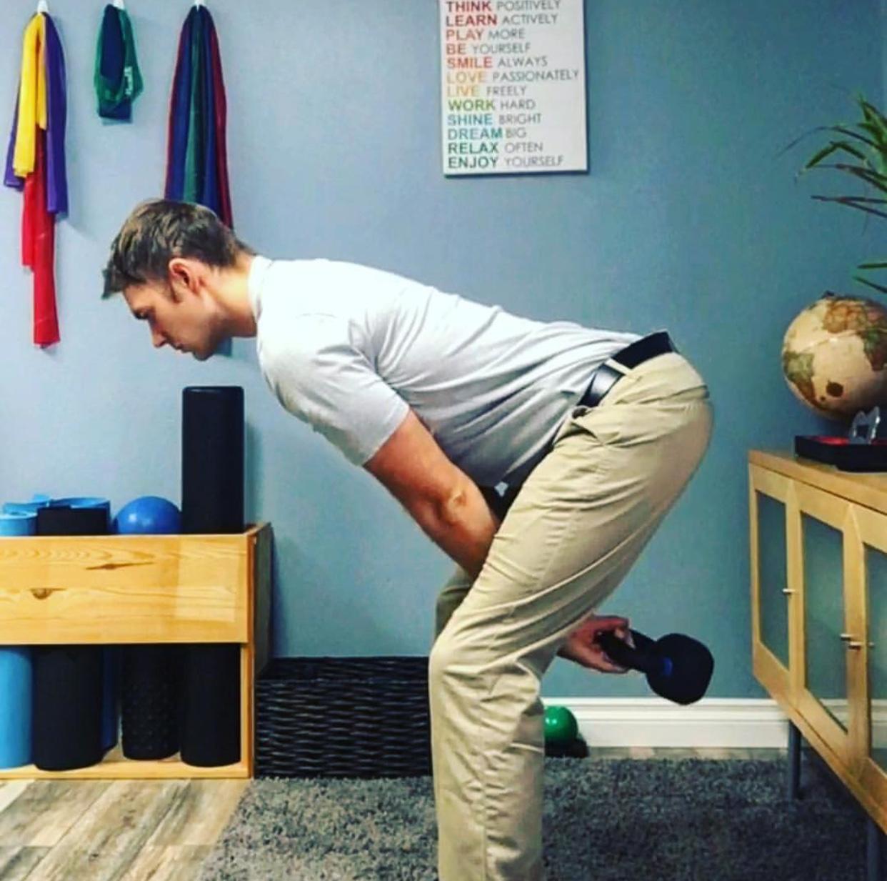 KettleBell Swings Sports Chiropractor