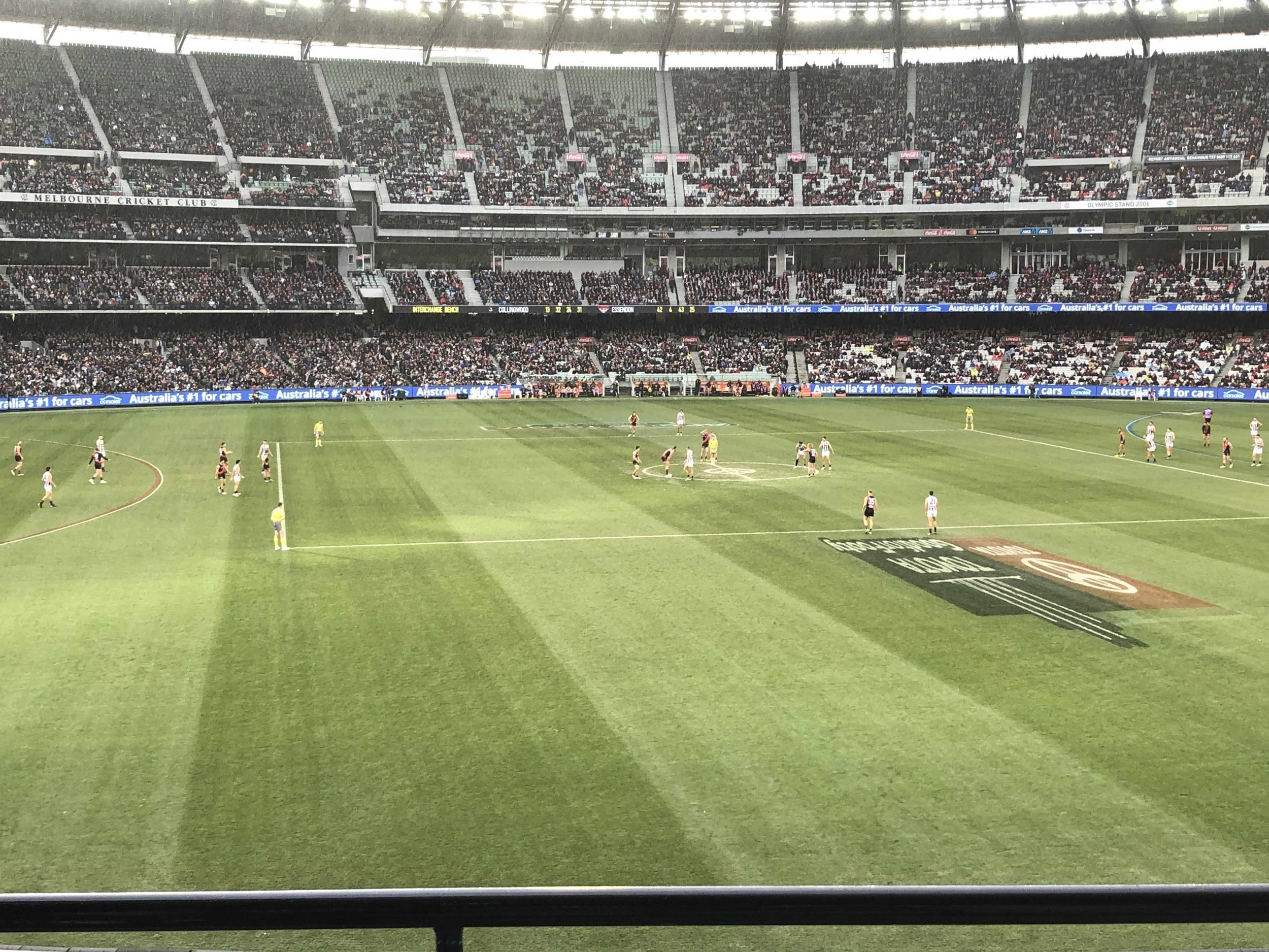 ANZAC Day Eve MCG AFL Level 2 view tickets
