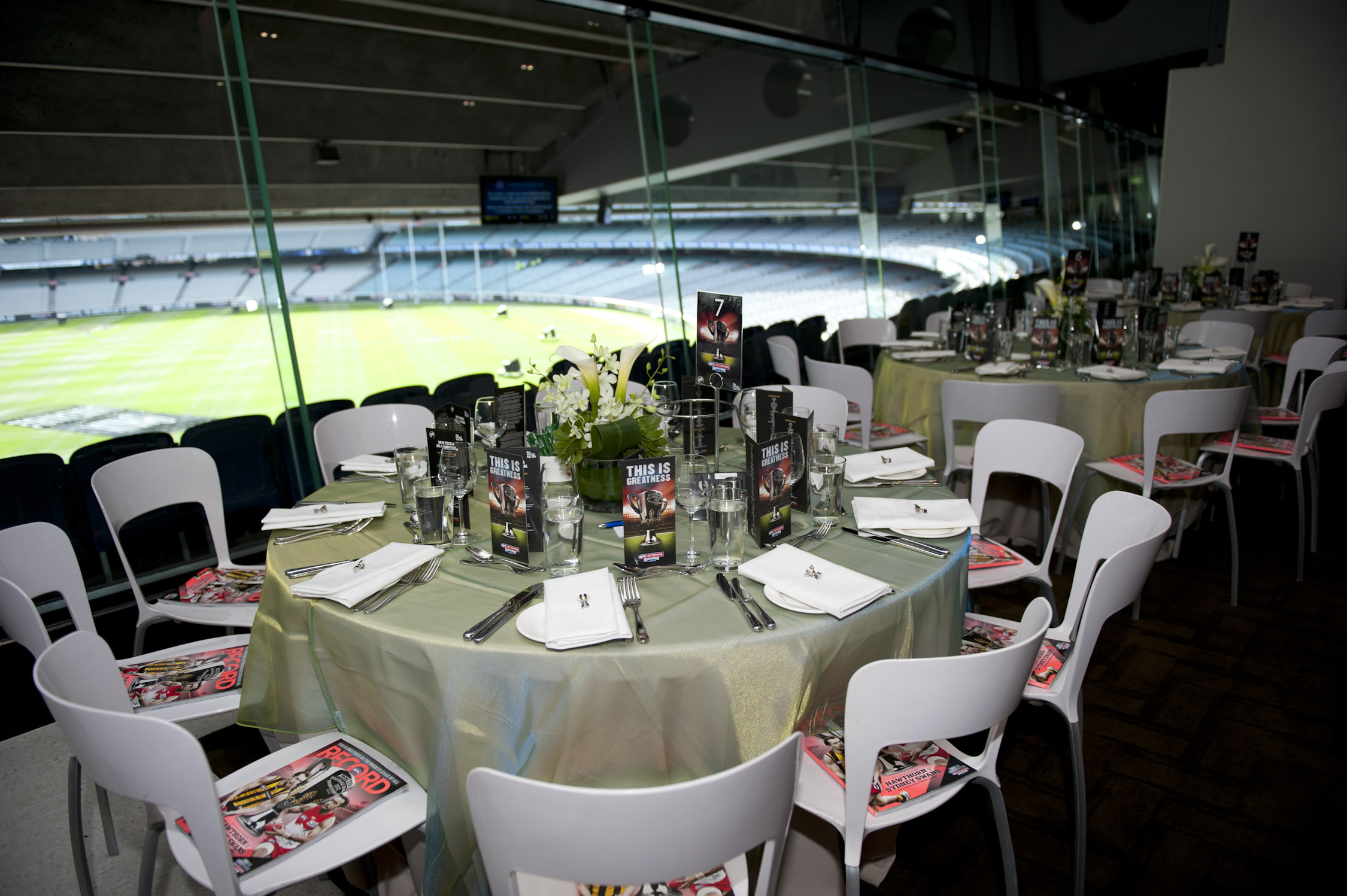Big Freeze at the G Tom Wills Dining Room MCG tickets