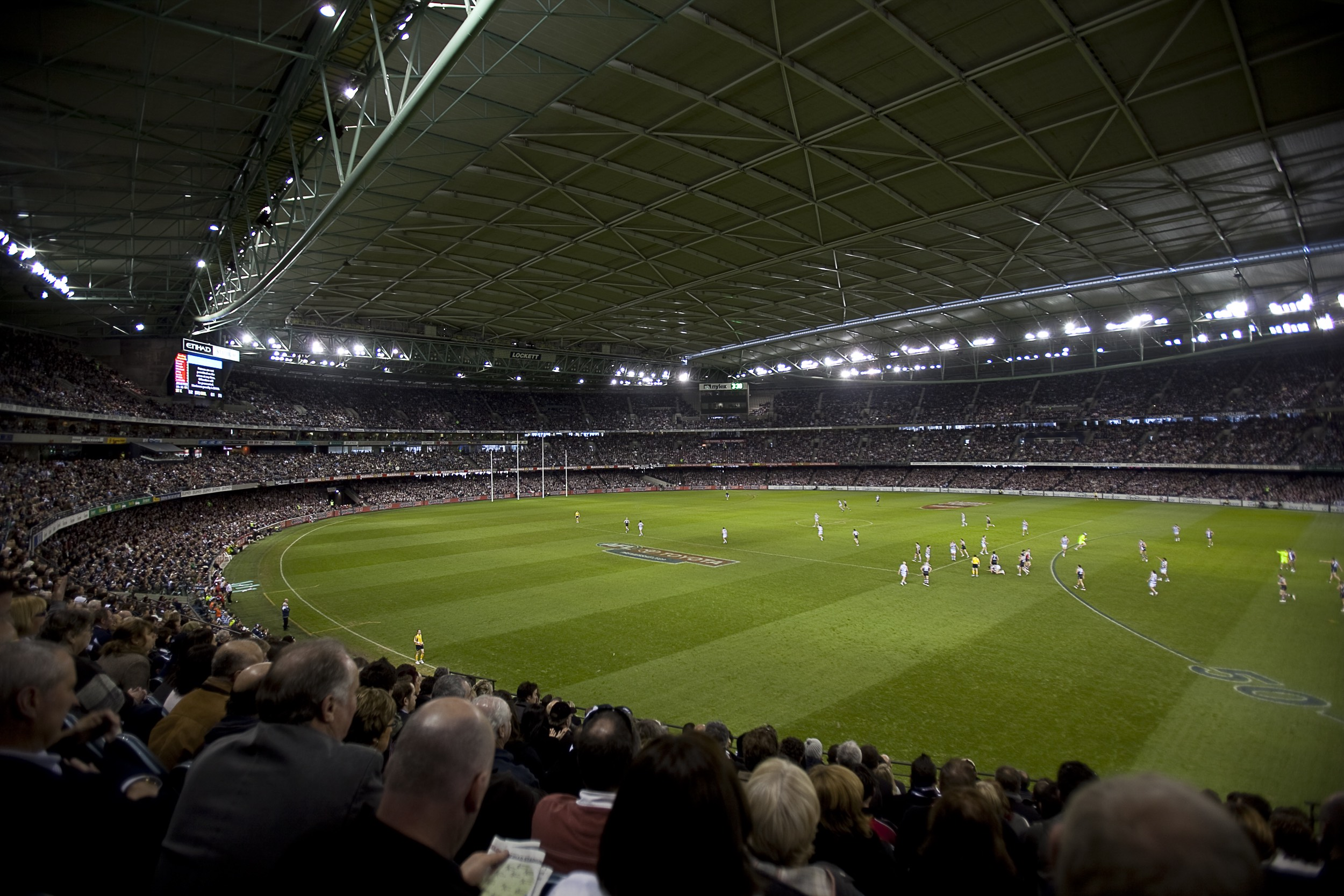 Essendon v Hawthorn Marvel Stadium Medallion Club seating