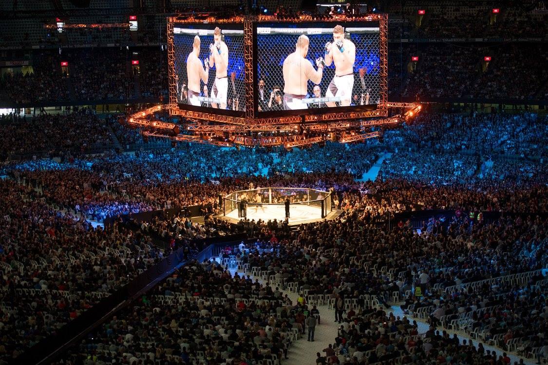 UFC 243 2019 Marvel Stadium seats