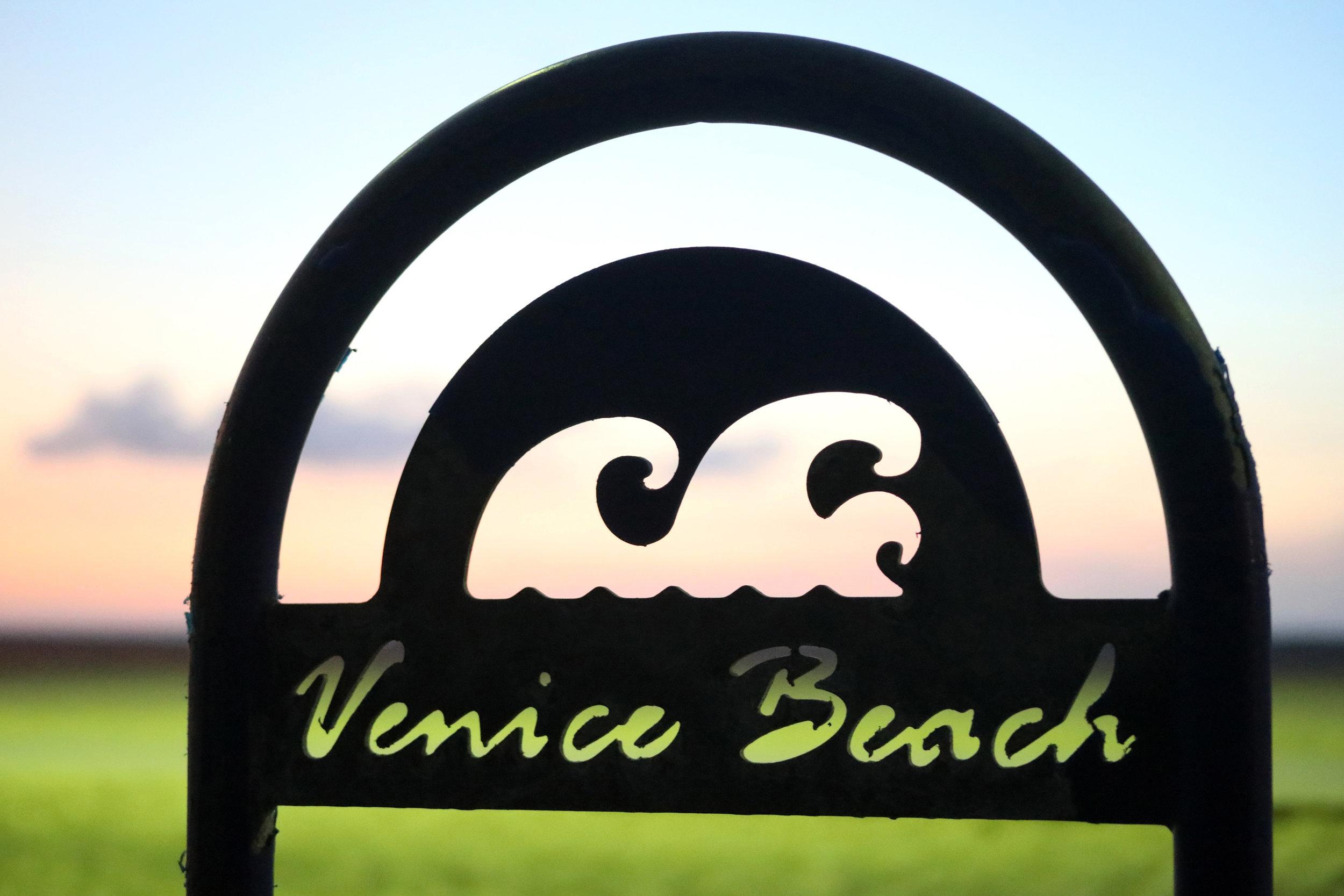 Sign at Venice Beach, California   https://www.ebay.com/itm/263679871100?ssPageName=STRK:MESELX:IT&_trksid=p3984.m1555.l2649