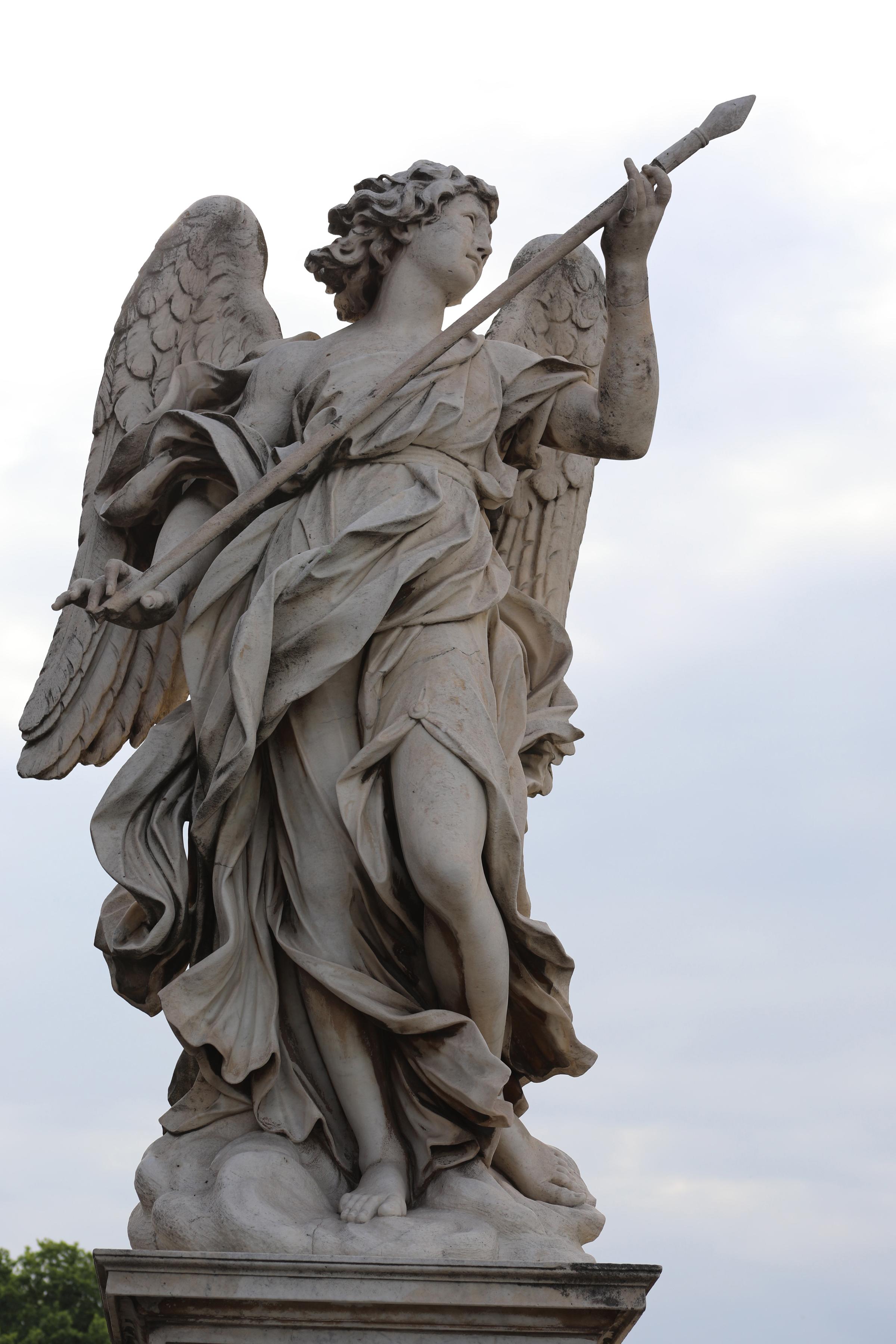 Angel statue outside The Vatican, Rome, Italy     https://www.ebay.com/itm/263679779903?ssPageName=STRK:MESELX:IT&_trksid=p3984.m1555.l2649