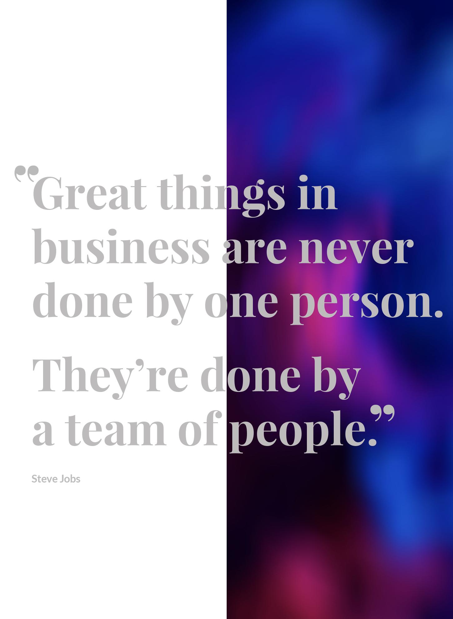 Langenhan - Steve Jobs Quote
