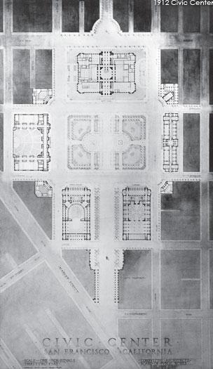 1912 Civic Center plan