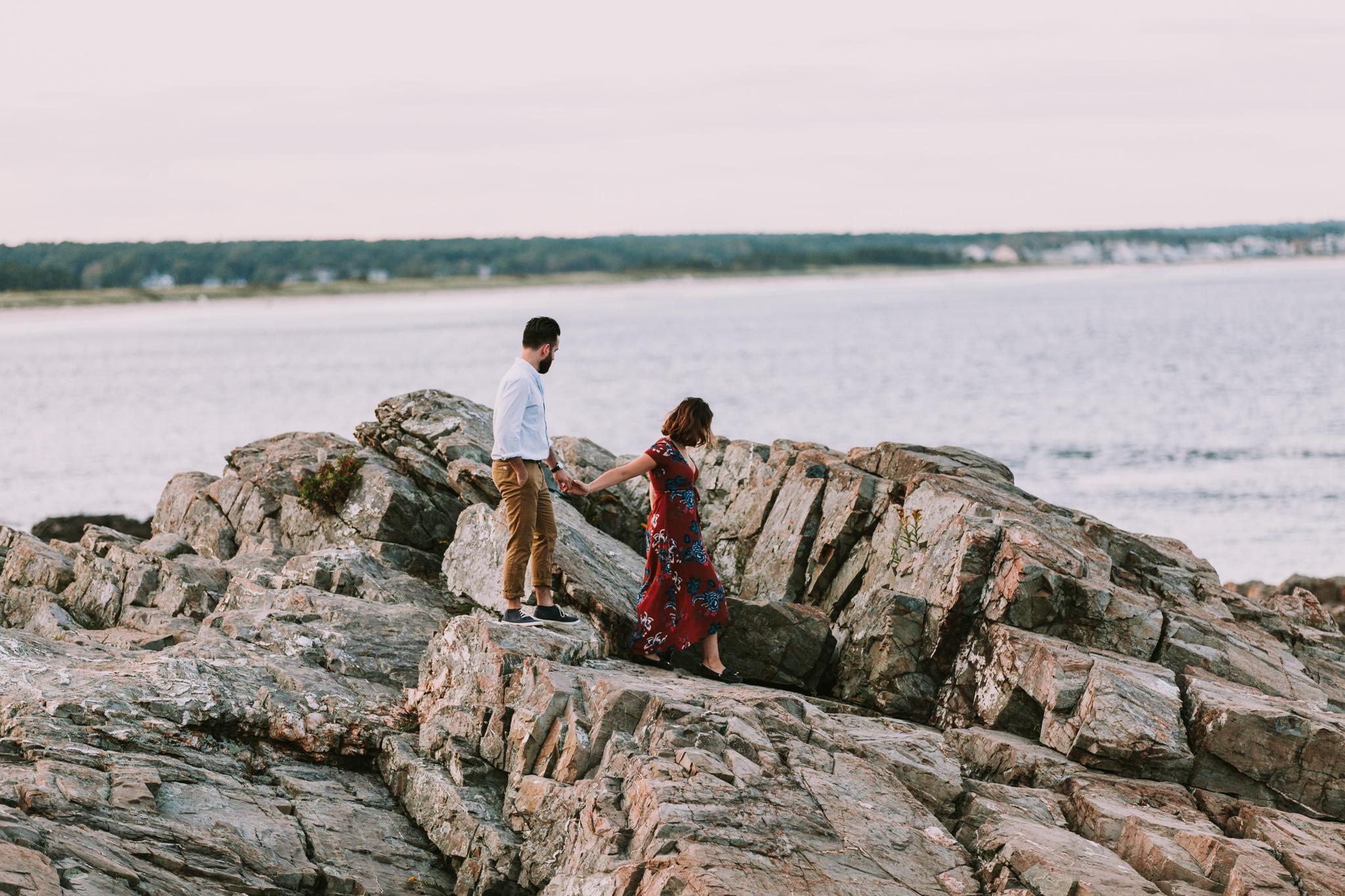 Surprise Proposal Maine