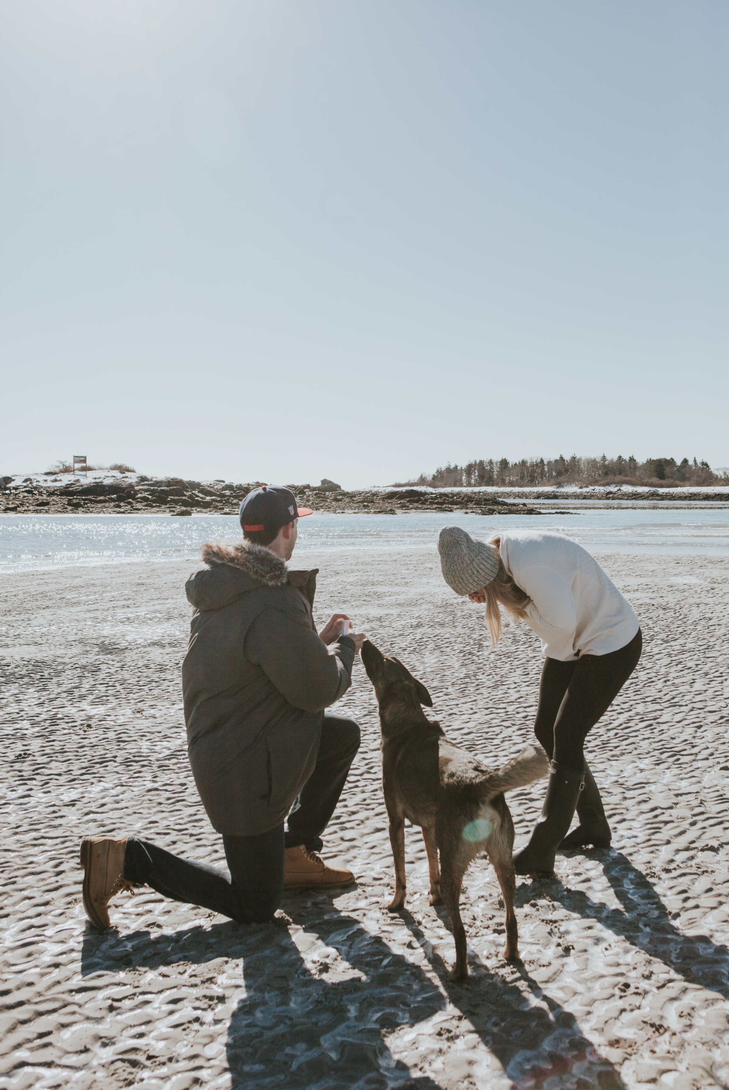 Goose Rocks Beach Kennebunkport Maine Engagement Proposal 0 © Heidi Kirn Photography.jpg