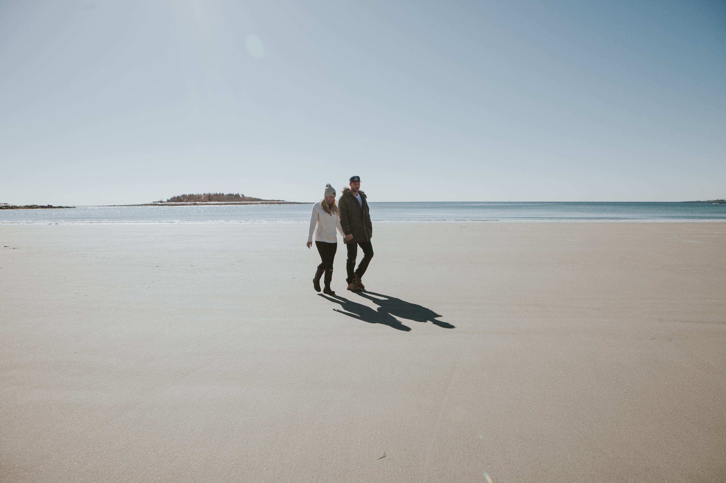 Goose Rocks Beach Kennebunkport Maine Engagement Proposal 6 © Heidi Kirn Photography.jpg