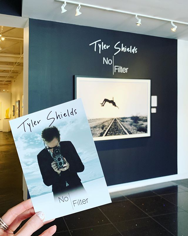 Tyler Shields: No Filter opens tonight at SLG - Dallas in the @ddesigndistrict from 5-8pm! 📸 Get your free tickets from @eventbrite at the link in our bio. 🎟 • Meet @thetylershields, view his newest collection of work, & purchase his book of unforgettable images, Provocateur! #tylershields #nofilter #samuellynnegalleries #dallasdesigndistrict #centaurinteriors #showtime